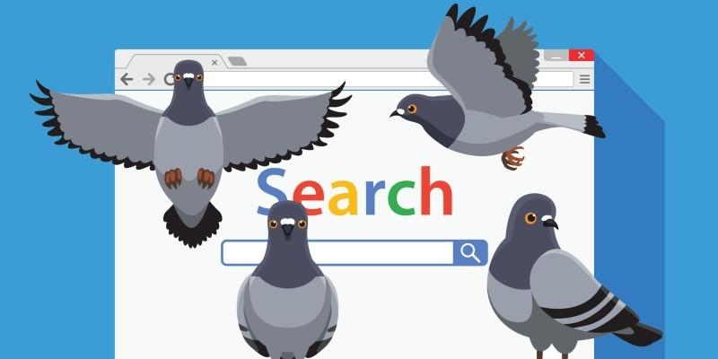 الگوریتم کبوتر چگونه عمل میکند ؟