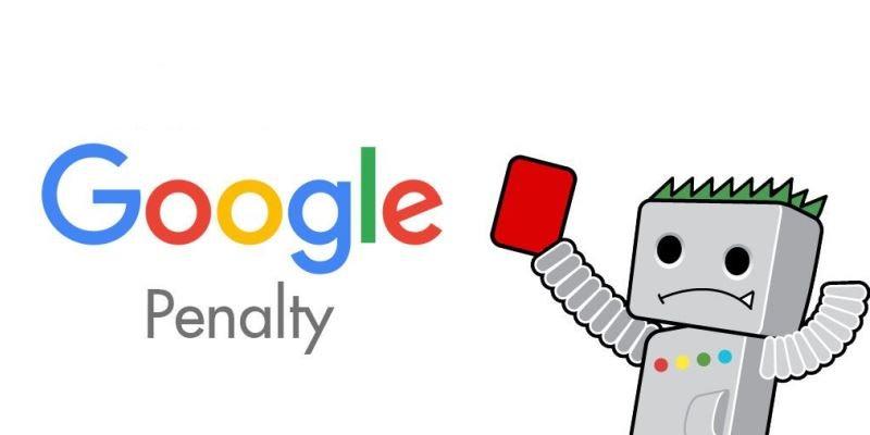 پنالتی شدن در گوگل چگونه است