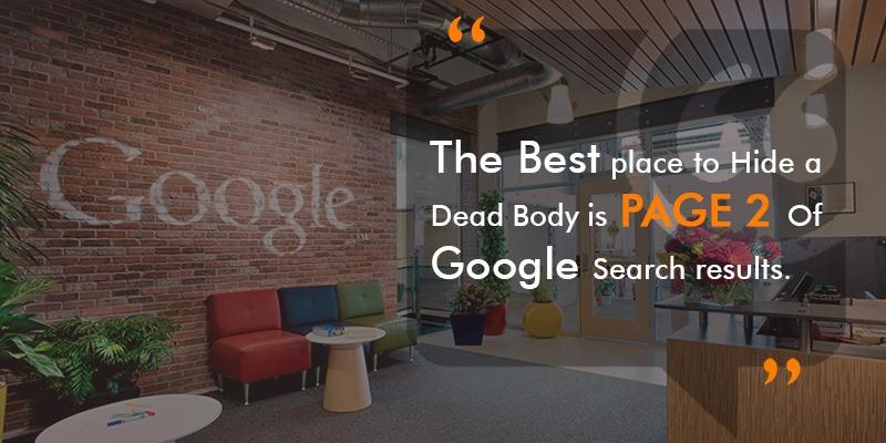 google 2nd page