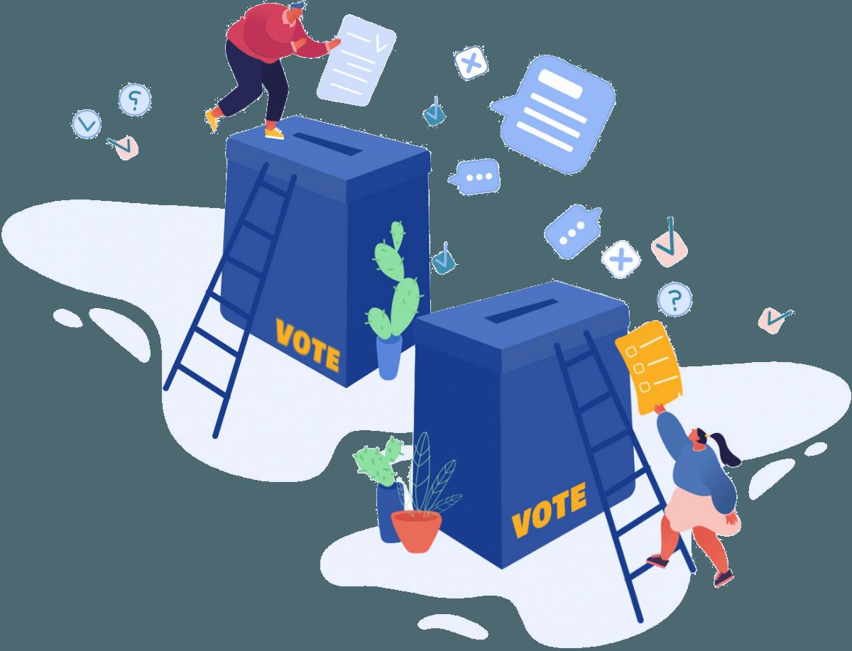 تبلیغات ویژه کاندیدای انتخابات