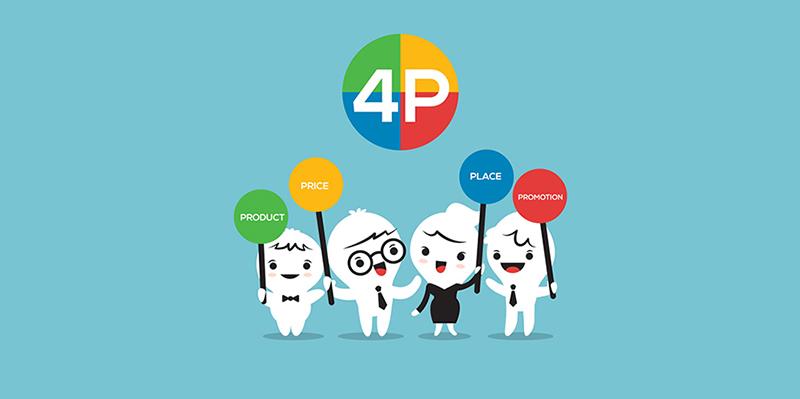 آمیخته بازاریابی (Marketing Mix) - 4P